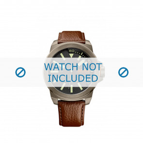 Watch strap Hugo Boss HB-238-1-34-2757 / 1513168 Leather Brown 24mm