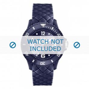 Ice Watch watch strap 007271 Leather Blue 20mm + standard stitching