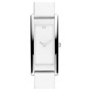 Watch strap Danish Design IV12Q937 Leather White 15mm