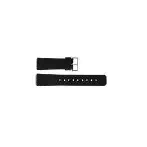 Jacob Jensen watch strap 100 / 120 / 23x19mm Rubber Black 23mm