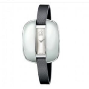 Calvin Klein watch strap K2E236-K600000084 Leather Grey 9mm