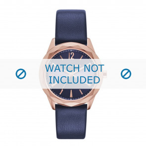 Karl Lagerfeld watch strap KL4004 Leather Blue