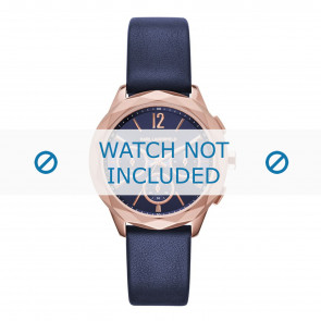 Karl Lagerfeld watch strap KL4010 Leather Blue