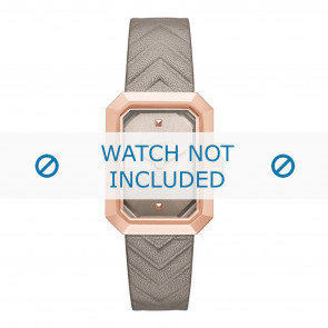 Karl Lagerfeld watch strap KL6103 Leather Beige