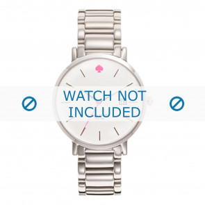 Kate Spade New York watch strap 1YRU0008 / GRAMERCY Metal Silver