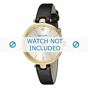 Kate Spade New York watch strap 1YRU0811 Leather Black