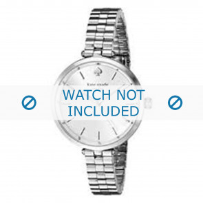 Kate Spade New York watch strap 1YRU0859 / Holland Metal Silver