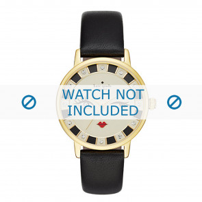 Kate Spade New York watch strap KSW1052 / METRO Leather Black