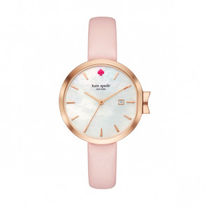 Kate Spade New York watch strap KSW1325 Leather Pink