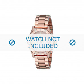 Lacoste watch strap 2000851 / LC-75-3-34-2537 Metal Rosé 16mm