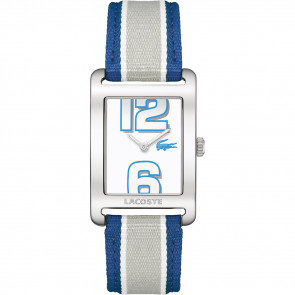 Watch strap Lacoste 2000693 / LC-51-3-14-2261 Leather Blue 20mm