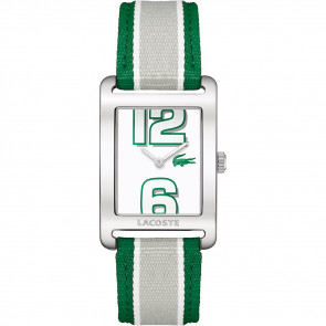 Watch strap Lacoste 2000696 / LC-51-3-14-2261 Leather Green 20mm
