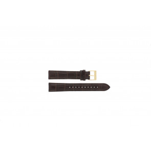 Lorus watch strap VX32-X383 Leather Brown 18mm