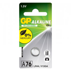 GP Batteries A76 - LR44 - V13GA 1,5V alkaline Battery 1.5Volt