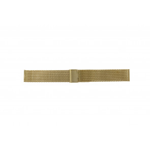 Watch strap Universal 20.3-ST-DB Milanese Gold plated 20mm