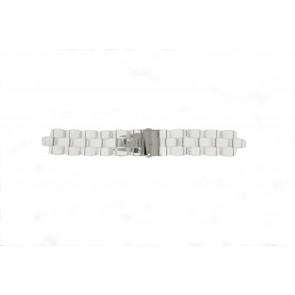Michael Kors watch strap MK5235 Plastic Transparent 22mm