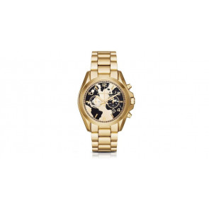 Watch strap Michael Kors mk6272 Steel Gold plated