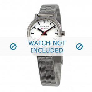 Mondaine watch strap A658.30301.11SBV / BM20037 / 30301 / EVO 26 Metal Silver 12mm