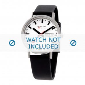 Mondaine watch strap A667.30314.11SBB / BM20028 / 30300 / 30314 / Classic 36 / Evo 35  Leather Black 18mm