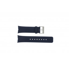 Nautica watch strap A23002G Rubber Blue 28mm