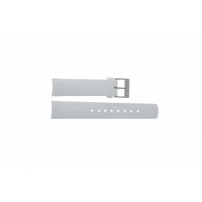 Nautica watch strap A31504G / A30005G / A16586G Rubber White 22mm