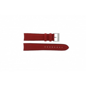 Nautica watch strap A24515G / N16532 Leather Red 22mm