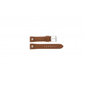 Watch strap Michael Kors MK2165 Leather Brown 18mm