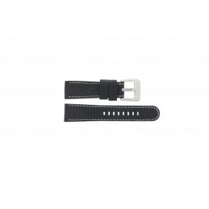 Danish Design watch strap IQ13Q712 Leather Black 20mm