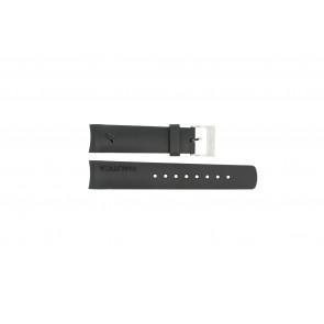 Nautica watch strap 31503G / N18523G / 31506G / A19527 / N17526 / A36002 / A13011 Rubber Black 22mm