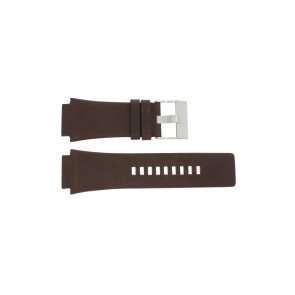 Diesel watch strap DZ-1132 Leather Brown 25mm