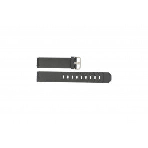 Jacob Jensen watch strap 600 / 800 / 601 / 602 Rubber / plastic Black 19mm
