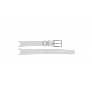 DKNY watch strap NY8782 Leather White 13mm