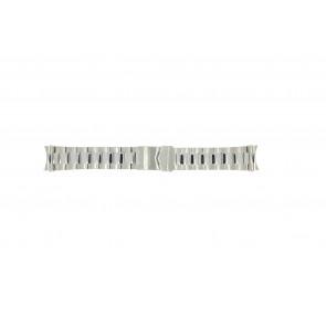 Watch strap Olympic OL26HSS276 Steel Steel 22mm