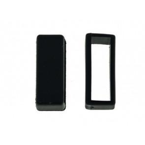 Watch strap keeper rubber black 18mm