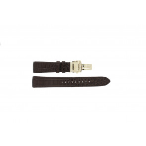 Watch strap Seiko 5D88-0AA0 / SRX004P1 / 4A072JL Leather Brown 21mm