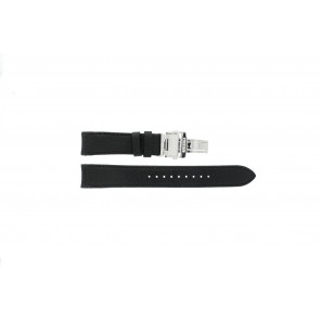 Seiko watch strap 7D46-0AB0 Leather Black 20mm