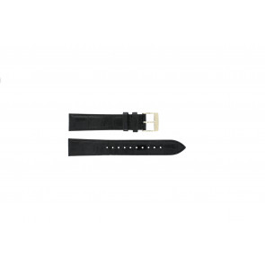 Seiko watch strap 7N32-0DE0 Leather Black 18mm