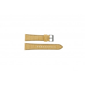 Watch strap Seiko 7T92-0NK0 / SNDD69P1 Leather Light brown 22mm