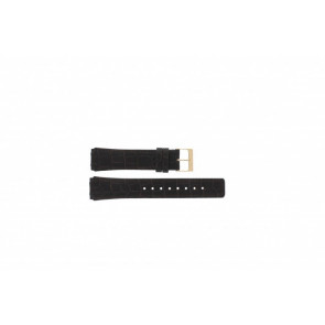 Watch strap Skagen 331XLRLD / 331XLRLDO Leather Brown 19mm