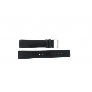 Watch strap Skagen 433LSLC Leather Black 18mm