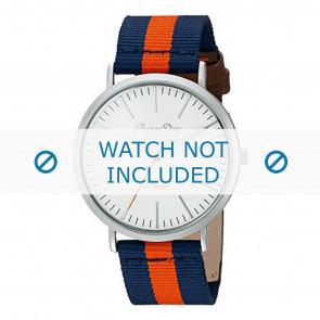 Superdry watch strap SYG183UO Nylon / perlon Blue
