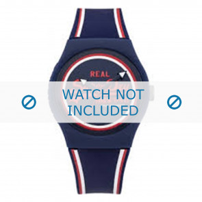 Superdry watch strap SYG198UR Plastic Blue
