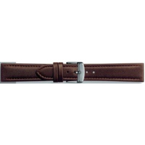 Genuine leather dark brown 24mm PVK-283