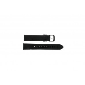 Timex watch strap T2N790 Leather Black 18mm