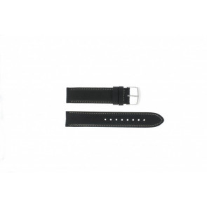 Timex watch strap T2N156 Leather Black 20mm
