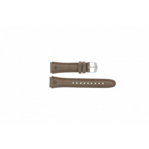 Timex watch strap T44381 Leather Brown 20mm