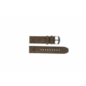 Timex watch strap T49986 Leather Brown 22mm