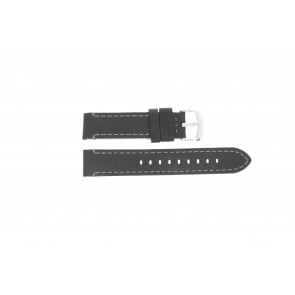 Timex watch strap TW2P58800 Leather Black 20mm