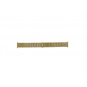 Morellato watch strap U0131154 Steel Gold (Doublé) 20mm