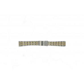 Morellato watch strap U0220184 Steel Silver 18mm